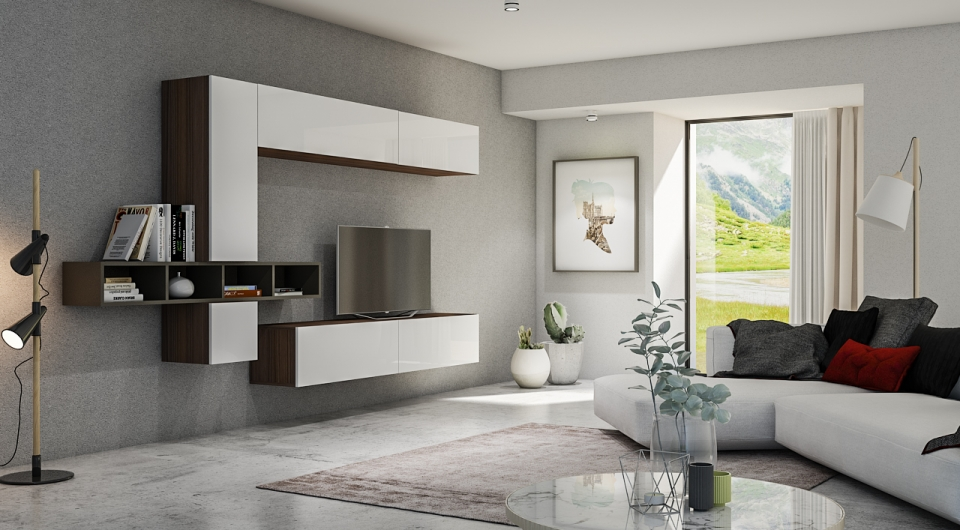 Idee per arredare un soggiorno in stile moderno