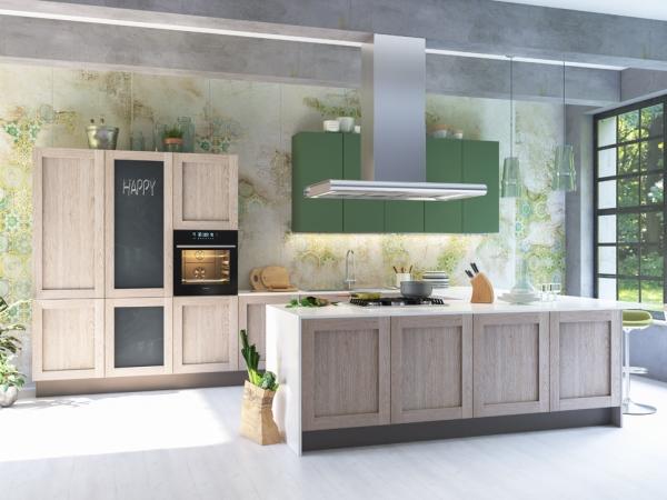 Esempi di arredamento autunnale, cucina Ginny